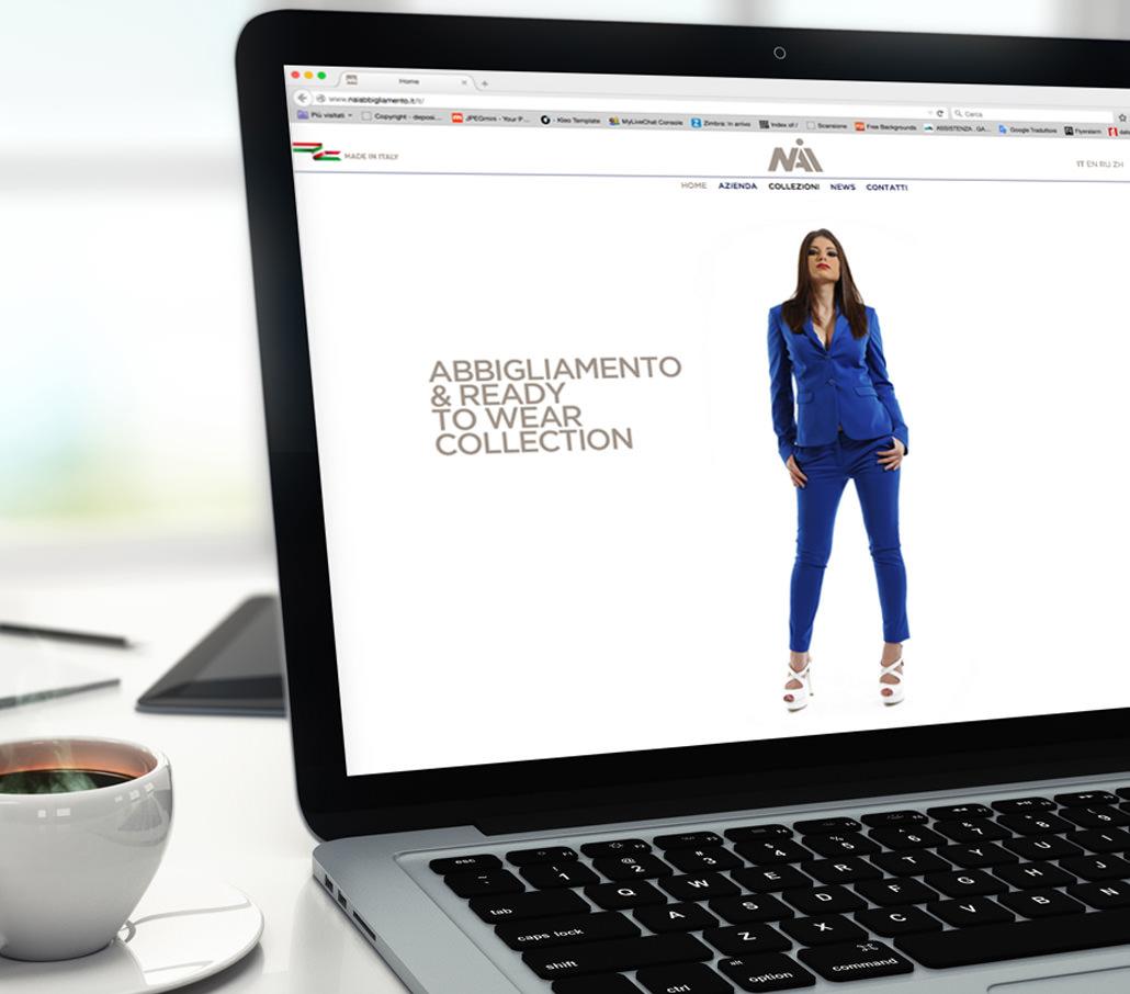 Nai Abbigliamento - sito web