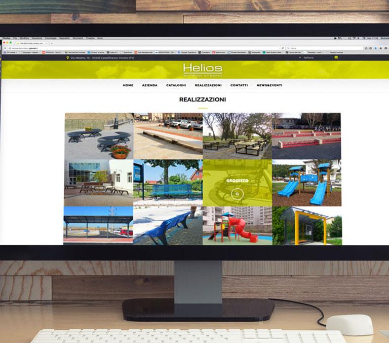 Comunicazione e web gas for Helios arredo urbano
